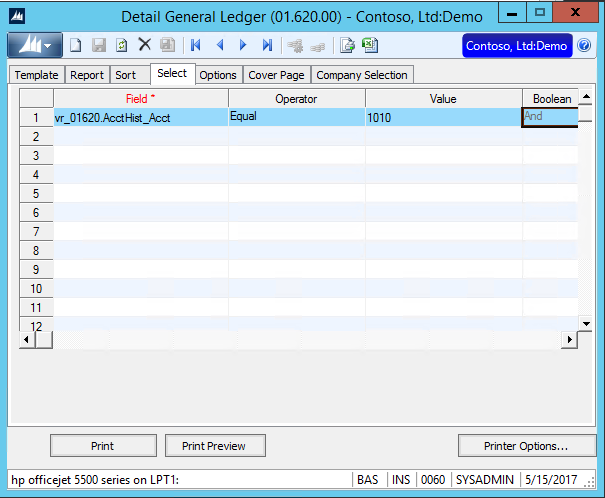 Using Templates for Reports in Dynamics SL - Crestwood Associates