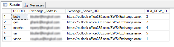 Dynamics GP Exchange Email Not Working after Moving to Office 365