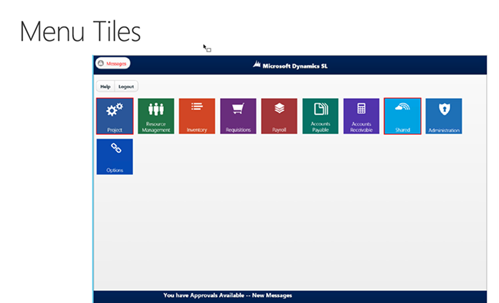 Dynamics SL Web Apps