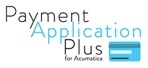 Payment Applicaiton Plus for Acumatica