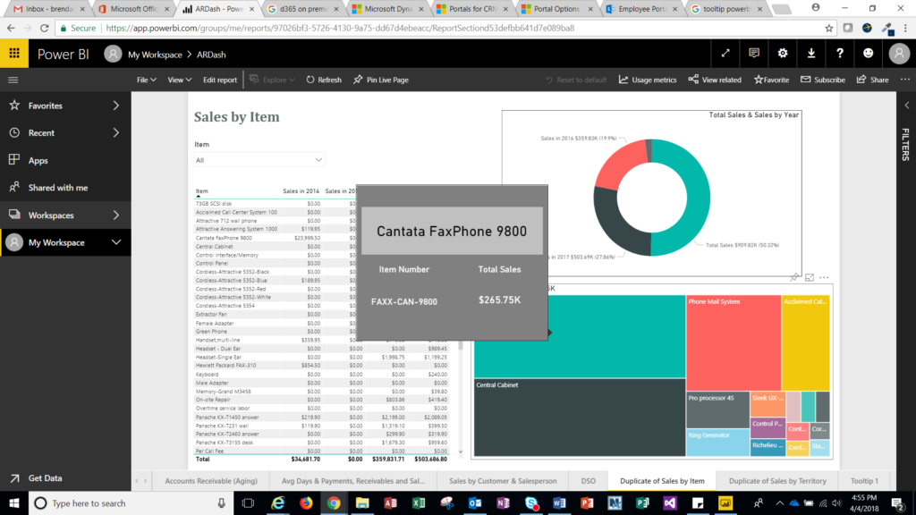 March 2018: Microsoft Power BI Reporting Updates