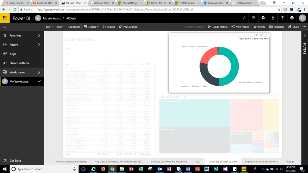 Power BI Reporting Tip