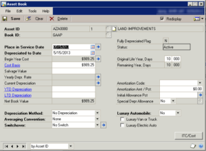 Depreciation on Fixed Assets
