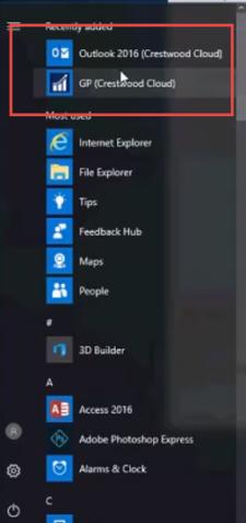 Remote App Desktop