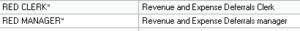 Revenue Expense Deferrals