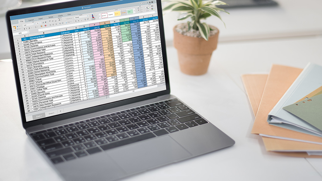 how to set up an accounts receivable roll forward report