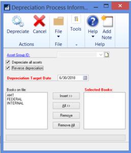 GP Fixed Assets