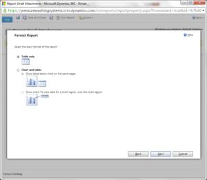 Dynamics 365 Report Formatting