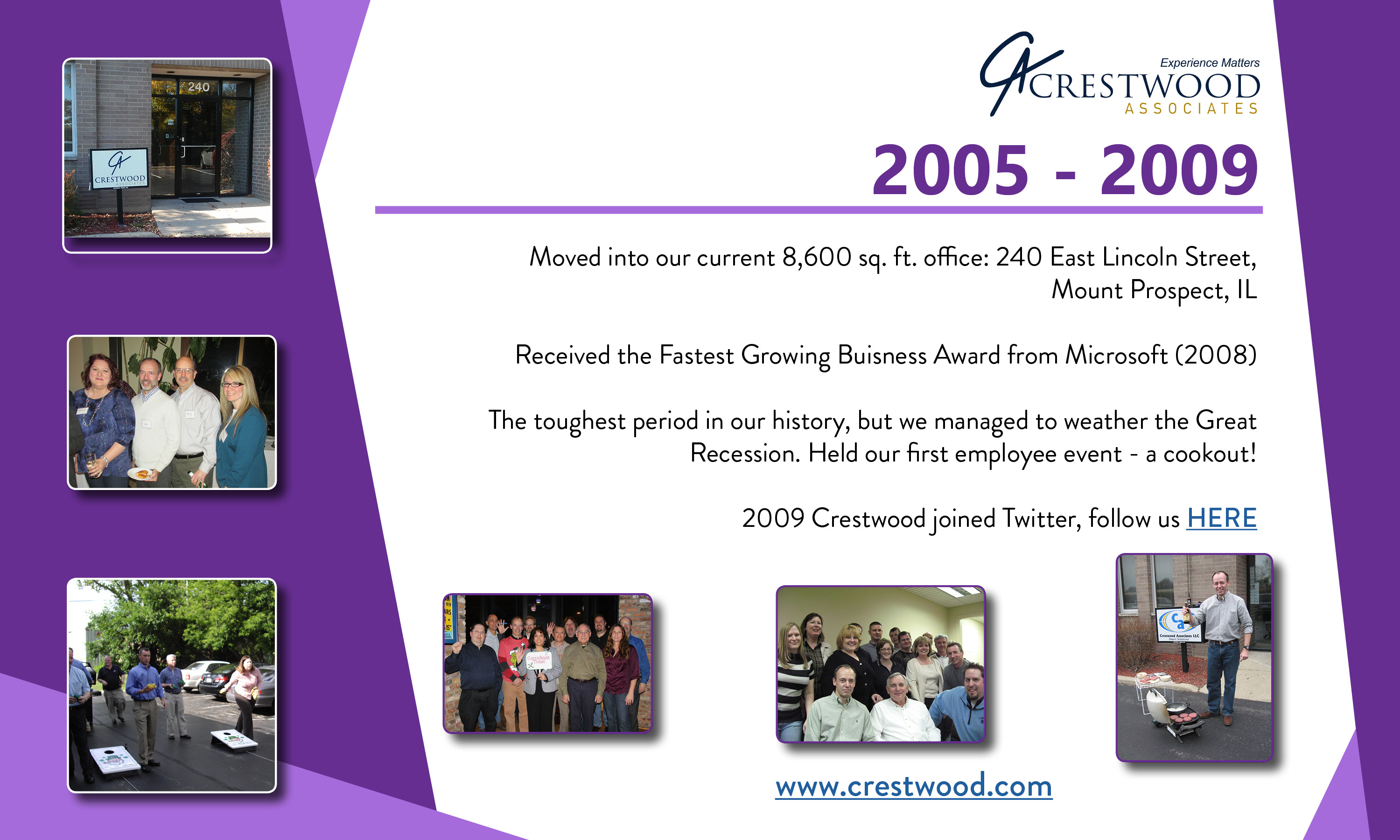 Crestwood 2005 to 2009