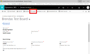 Field Service Schedule in Dynamics 365 for Sales (CRM)