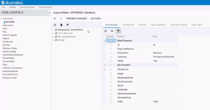 customization project adding data field in Acumatica