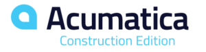 acumatica construction edition