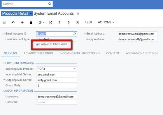 AP Inbox Assist for Acumatica