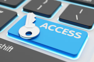 Safety data access, computer network security, user account pass