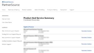 Microsoft CustomerSource