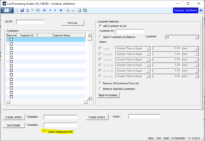Dynamics SL add-on Collections Management