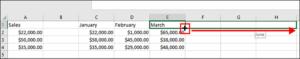 Microsoft Excel Auto fill pattern