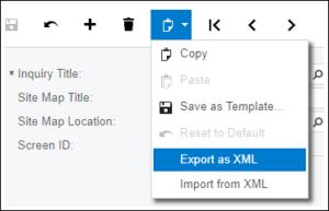 Adding Generic Inquiries to Custom Project