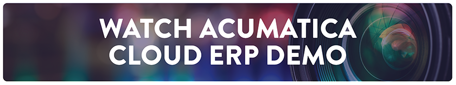 Acumatica Cloud ERP Demo