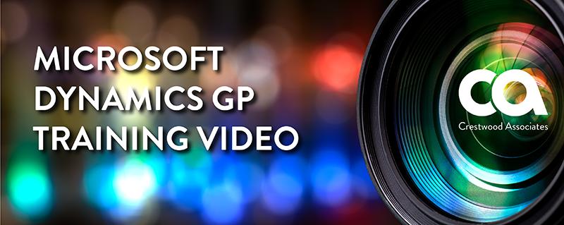 Dynamics GP Training Video
