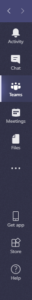 Microsoft Teams Menu Bar