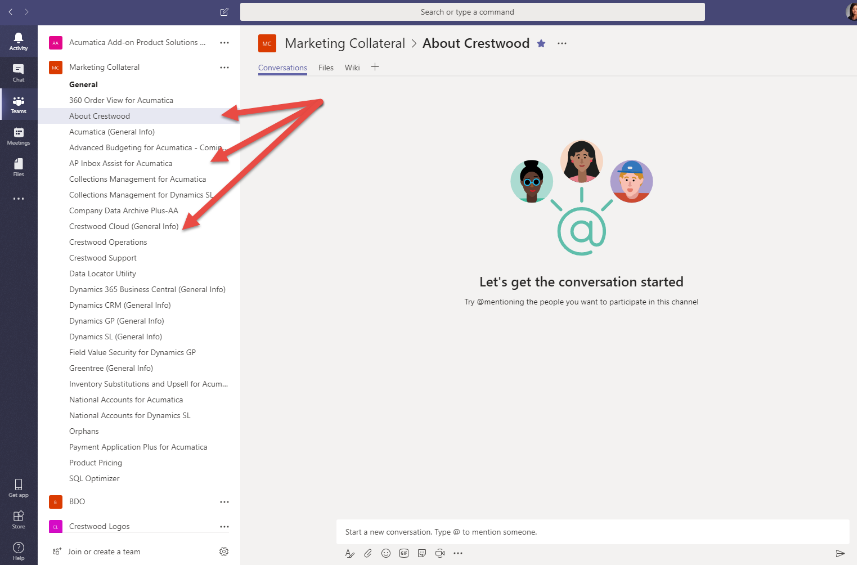 Using Microsoft Teams