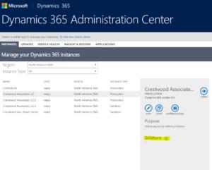 Microsoft Dynamics 365 Portal