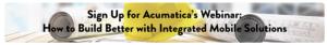 Acumatica Construction webinar