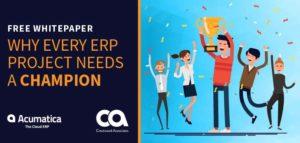 Acumatica Campaign ERP Champion
