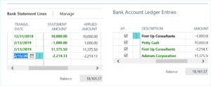 Bank Reconciliation in Dynamics 365