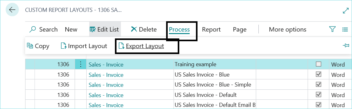 Modify Sales Invoice in Dynamics 365