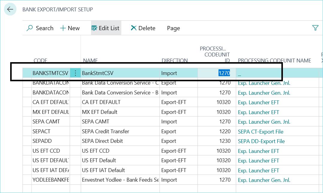 Dynamics 365 CSV Files
