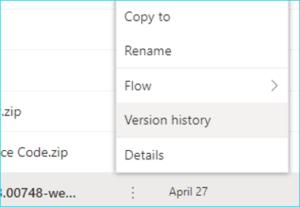 Microsoft OneDrive Versions