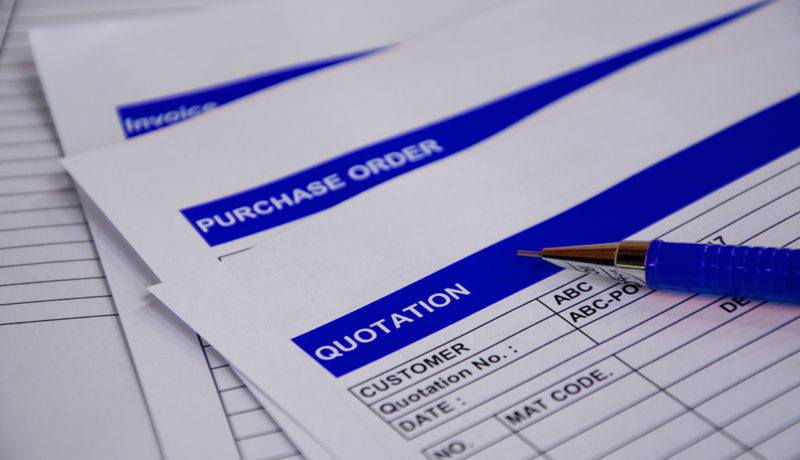 Acumatica Purchase Order