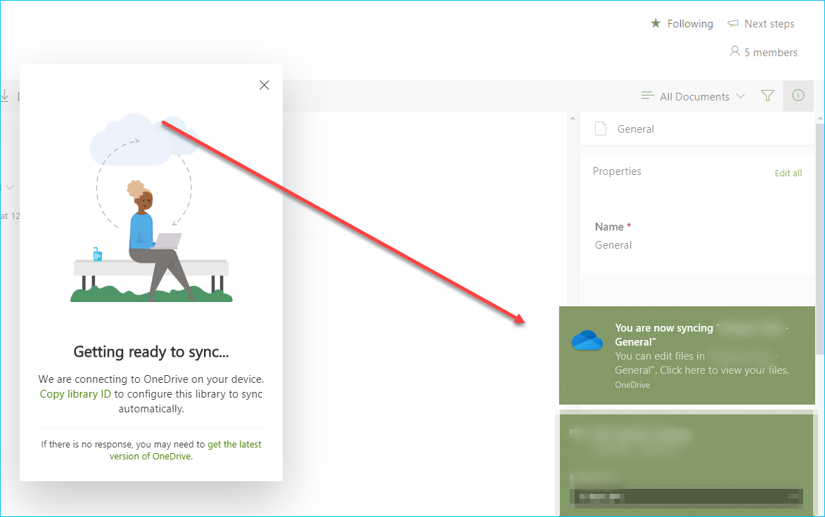 Microsoft OneDrive Sync