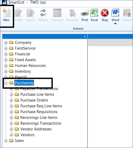 Dynamics GP Vendor 1099