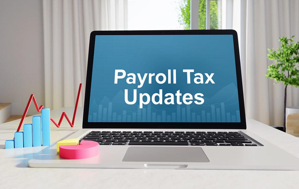 Dynamics GP Payroll Tax Updates