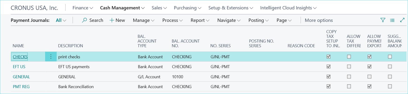 D365 Print Check Process