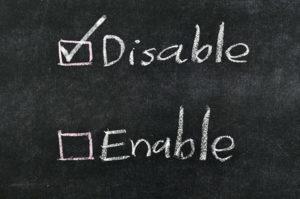 Disable Smartlist Builder