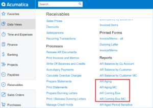 Acumatica 2020 R1 New Features