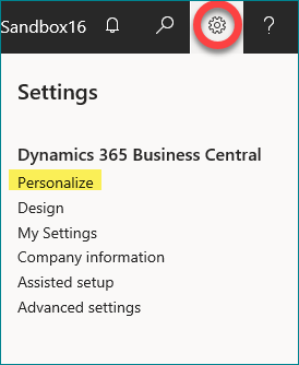 Sales Orders in Dynamics 365
