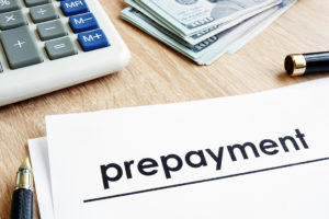 Prepayments in Dynamics 365