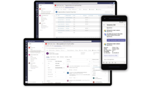 Business Central platform on multiple devices