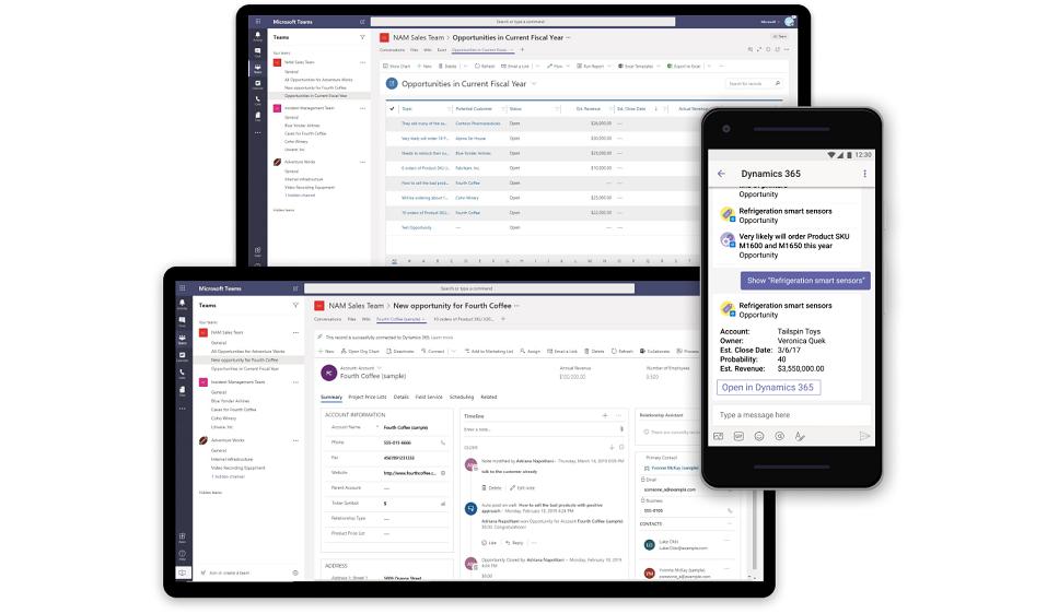 Business Central platform on multiple devices