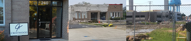 Crestwood's Office Demolition