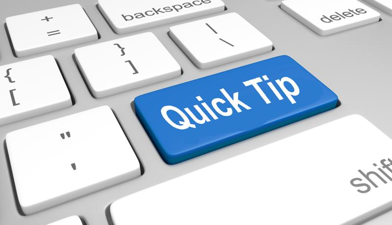 Quick Acumatica Tip