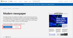Using Templates in Microsoft Office 365