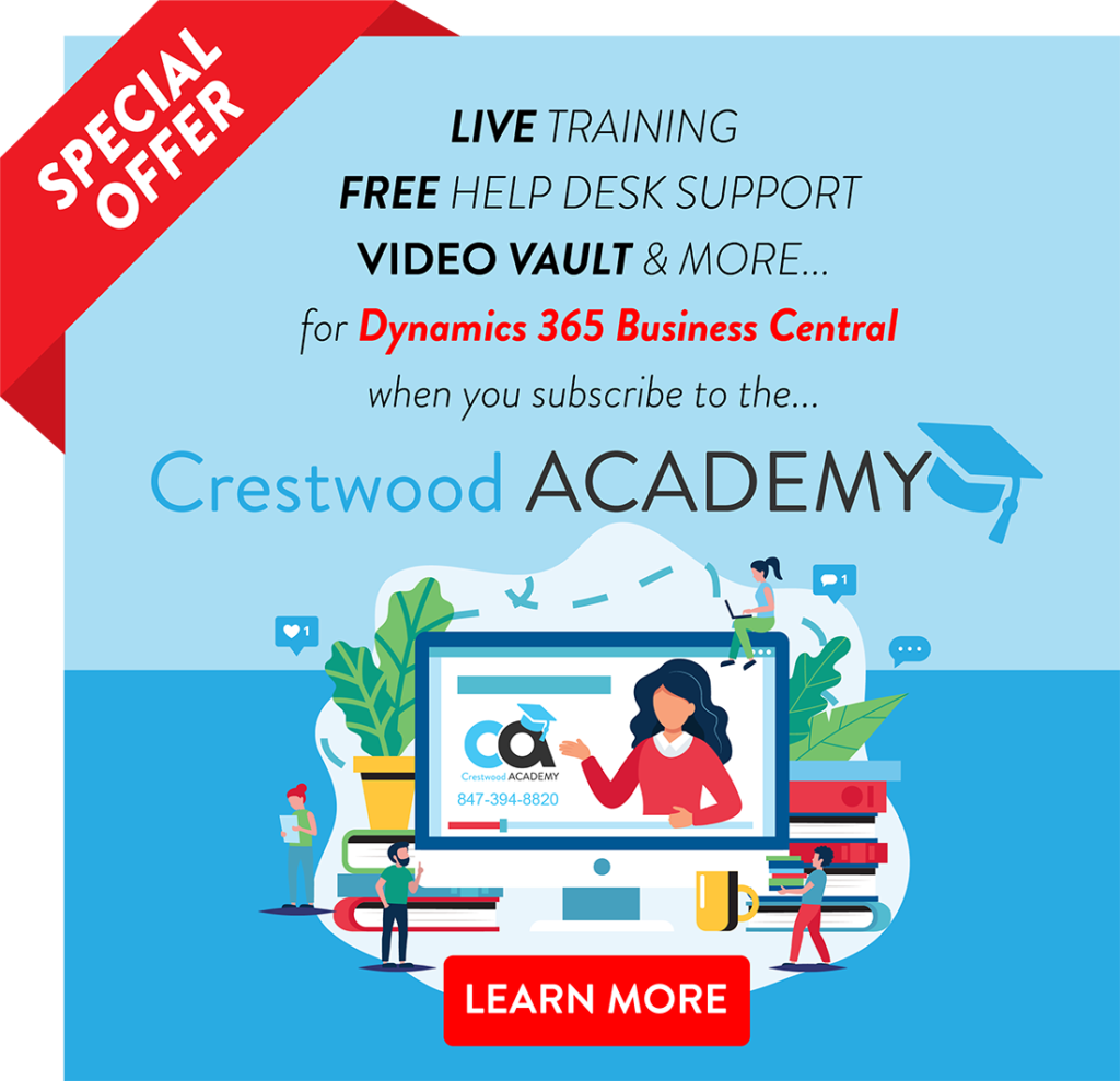 Crestwood Academy BC ad