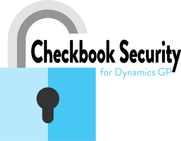 Checkbook Security for Dynamics GP