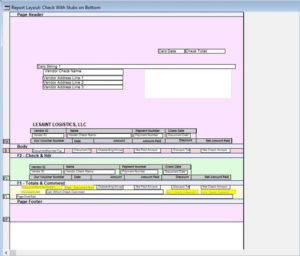 Dynamics GP Report Writer